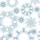 12 Snow Decorations Brushes - GraphicRiver Item for Sale