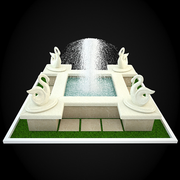 Как в 3d max сделать фонтан