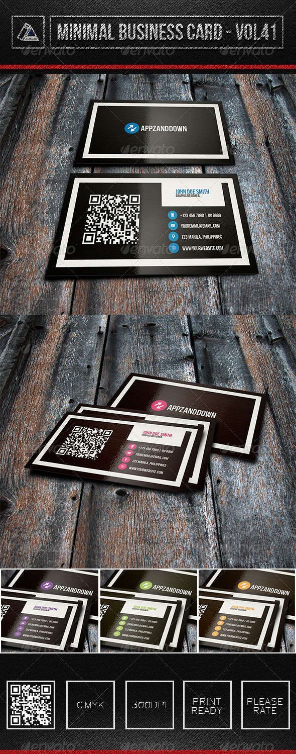 GraphicRiver IntenseArtisan Business Card Vol.41 6305264