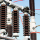 Electrical insulators in a high-voltage power station - PhotoDune Item for Sale