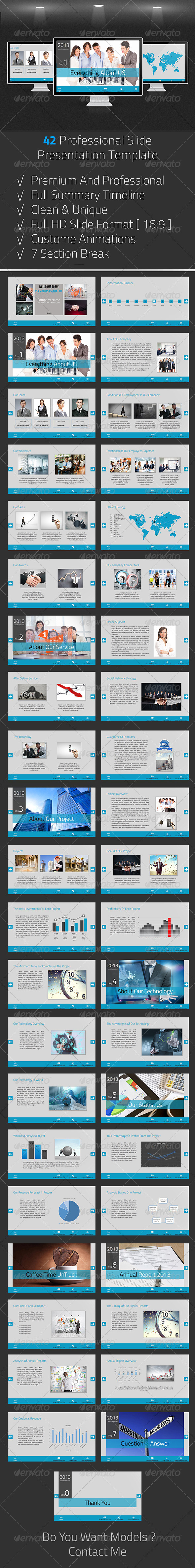 GraphicRiver Premium Business Presentation 6306252