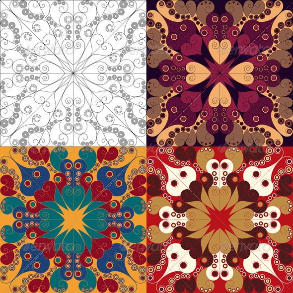 GraphicRiver Arabesque Backgrounds 6307604