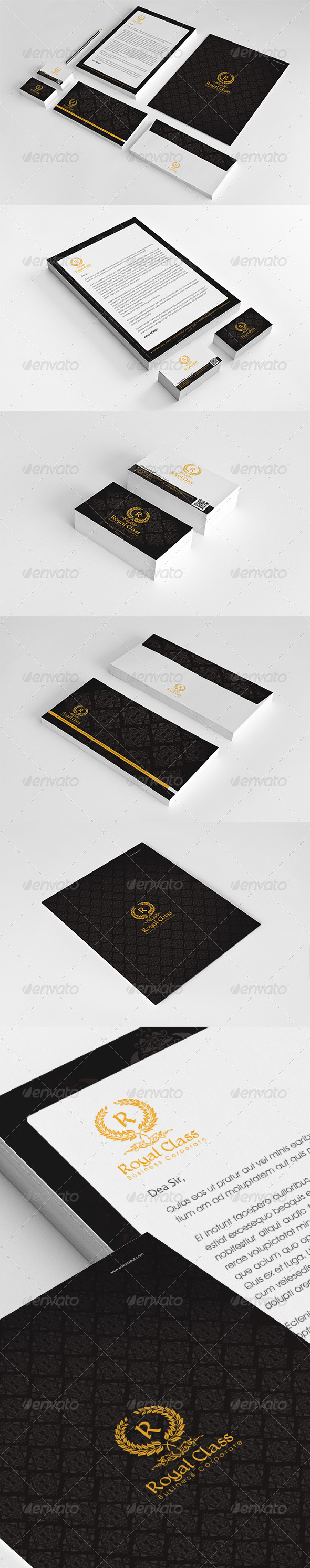 GraphicRiver Royal Class Corporate Identity Package v2 6288938