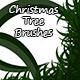 Christmas Tree Brush - GraphicRiver Item for Sale