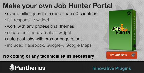 WP Job Hunter - WordPress Jobs Affiliate Plugin - CodeCanyon Item for Sale