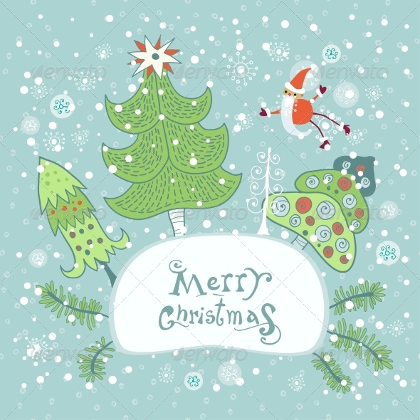GraphicRiver Christmas and New Year Greeting Card 6309141