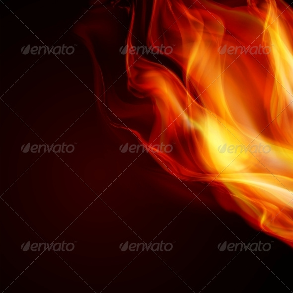 GraphicRiver Abstract Fire Flames 6309523