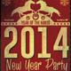 New Year Vintage Party Flyer - GraphicRiver Item for Sale