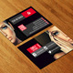 Model Business Card AN0108 - GraphicRiver Item for Sale