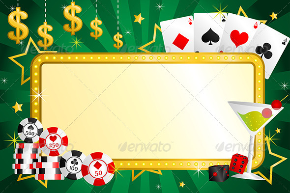 GraphicRiver Gambling Background 6311217