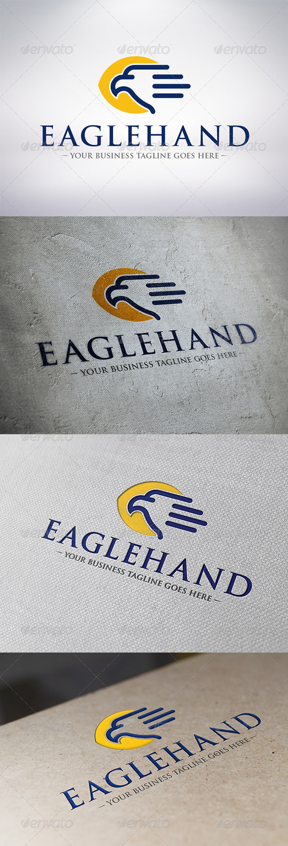 GraphicRiver Eagle Hand Logo Template 6314023
