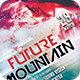 Future Mountain Flyer - GraphicRiver Item for Sale