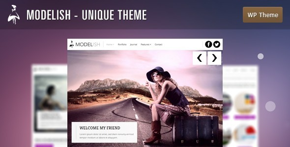 Modelish - Unique WordPress Theme - Photography Creative