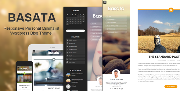 ThemeForest Basata Retina Responsive Wordpress Blog Theme 6271813