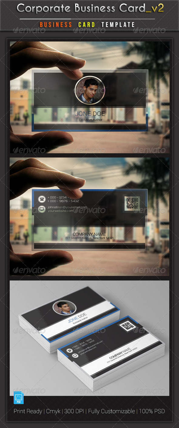 GraphicRiver Corporate Business Card v2 6315246