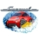 Car Washing Sign with Sponge - GraphicRiver Item for Sale