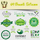64 Organic Stickers - GraphicRiver Item for Sale