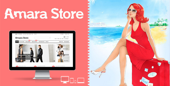 ThemeForest Amara Store Responsive E-Commerce HTML Template 6265871