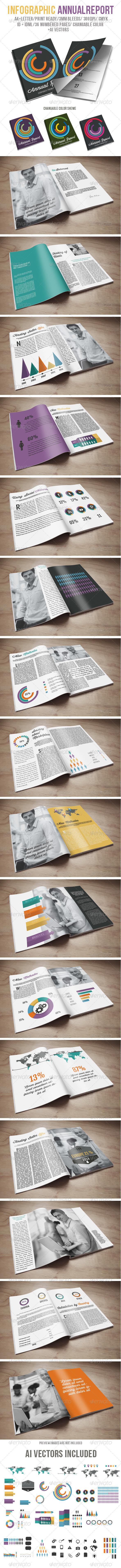 GraphicRiver Infographic Annual Report 6315764