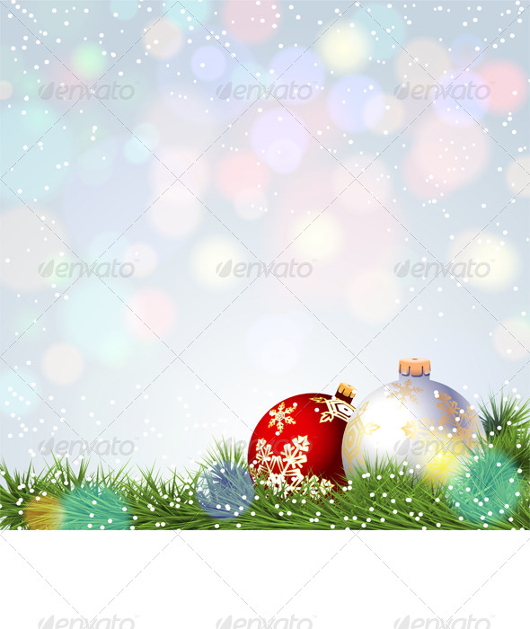 GraphicRiver Christmas Background 6316109