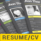 4 Pages Professional Resume Template - GraphicRiver Item for Sale