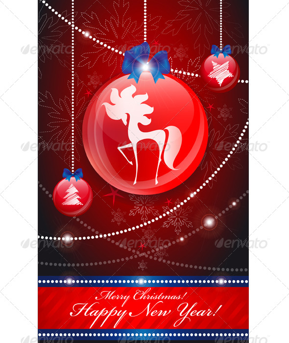 GraphicRiver Christmas Tree Decorations 6316726