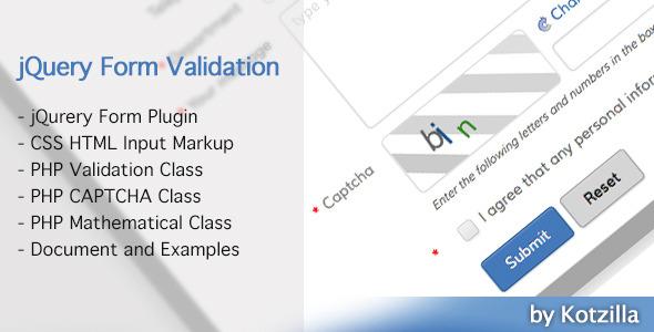 CodeCanyon jQuery Form Validation Plugin 6235895