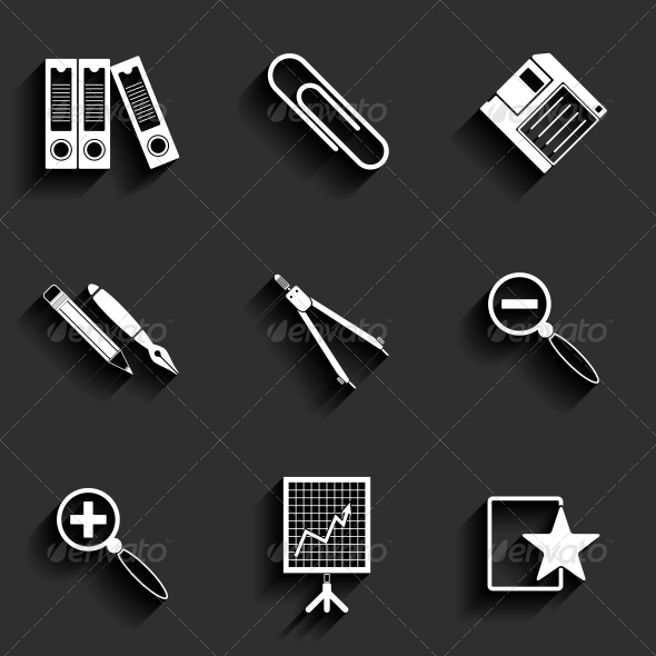 GraphicRiver Universal Flat Icons 6317098