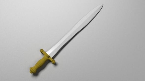 3DOcean Medieval Sword 6317108