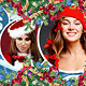 Merry Christmas FB Timeline Cover Vol 2  - GraphicRiver Item for Sale