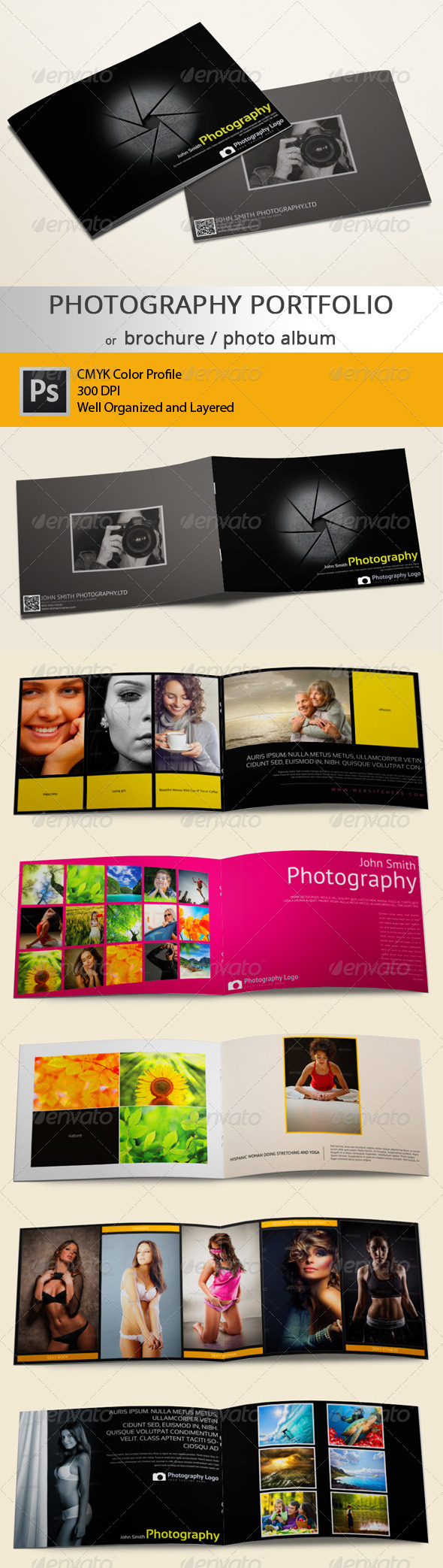 GraphicRiver Photography Portfolio Brochure or Photo Album 6317799