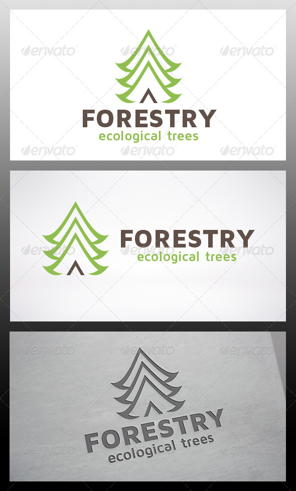 GraphicRiver Tree Logo 6317858
