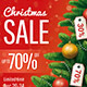Christmas Sale Poster - GraphicRiver Item for Sale