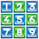 Numbers Icon Set - GraphicRiver Item for Sale