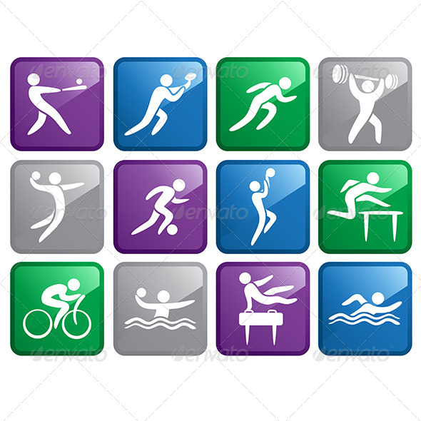 GraphicRiver Sport Icons 6319366
