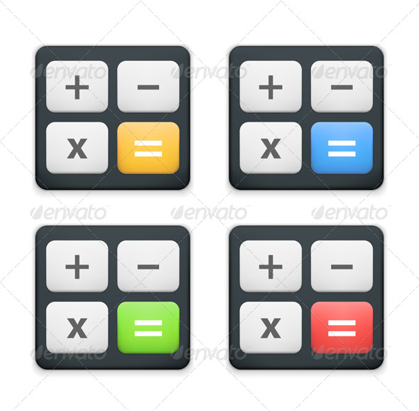 GraphicRiver Calculator Icon 6319621
