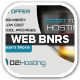 O2 Web Hosting Web Banners - GraphicRiver Item for Sale