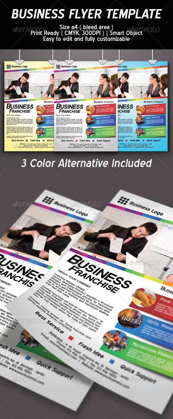 GraphicRiver Business Flyer Template Psd 6320161