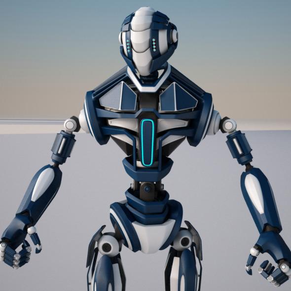 3DOcean Robot FGV134 6320262