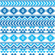 Aztec Tribal Seamless Blue and Navy Pattern - GraphicRiver Item for Sale