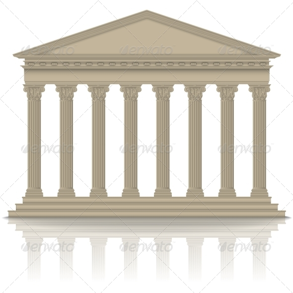 GraphicRiver Roman Greek Pantheon 6320920