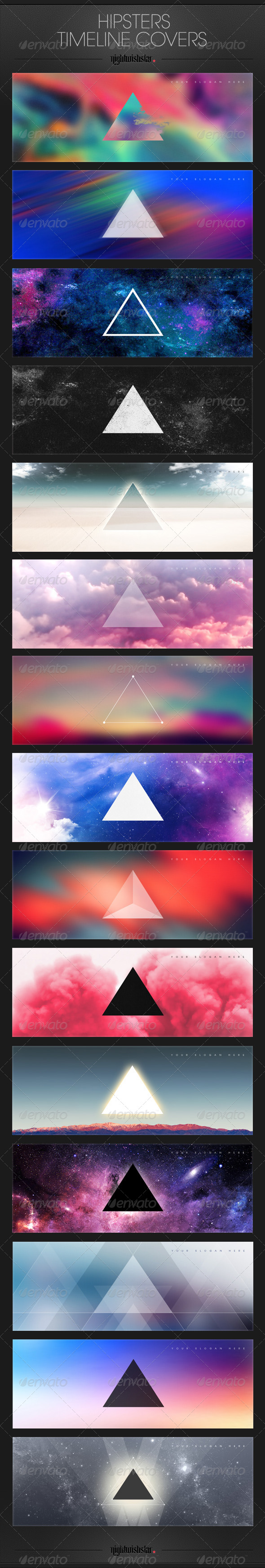 GraphicRiver Hipster Facebook Timeline Covers 6321015