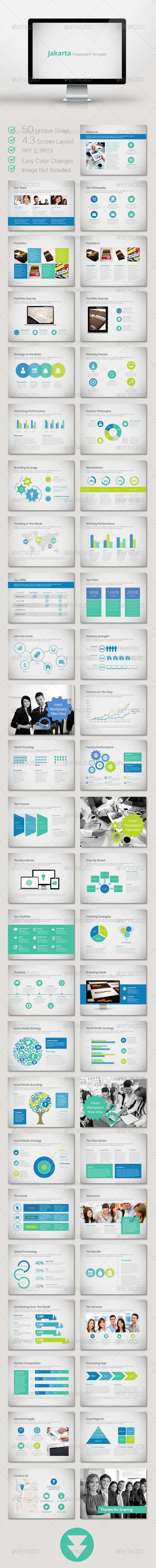 GraphicRiver Jakarta Powerpoint Template 6320506
