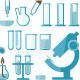 Laboratory Equipment Set - GraphicRiver Item for Sale