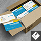 Business Cards in Cardboard Box Mock-Up - GraphicRiver Item for Sale