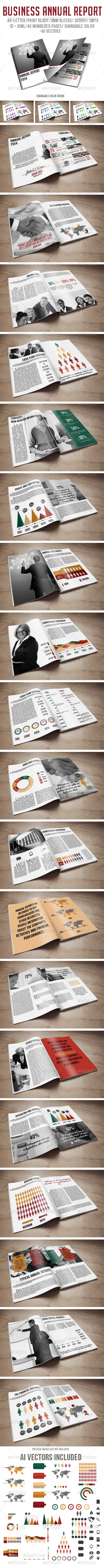 GraphicRiver Business Anual Report 6321697