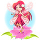 Fairy Princess Flying Above a Flower - GraphicRiver Item for Sale