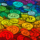Colorful Buttons Background. Cartoon Style.  - GraphicRiver Item for Sale