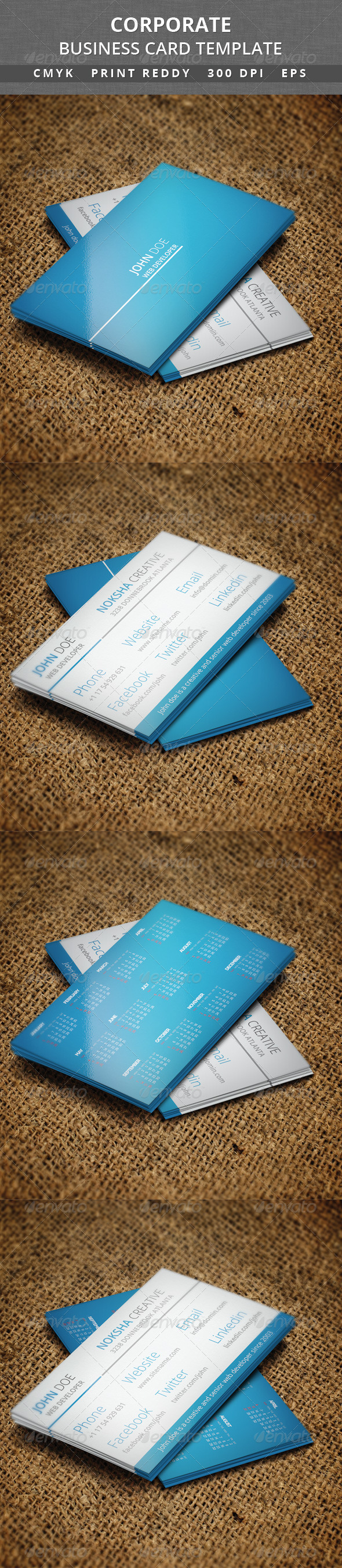 GraphicRiver Corporate Business Card V 38 6322321