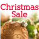 Christmas Sale Banner Set 1 - 12 Sizes - GraphicRiver Item for Sale